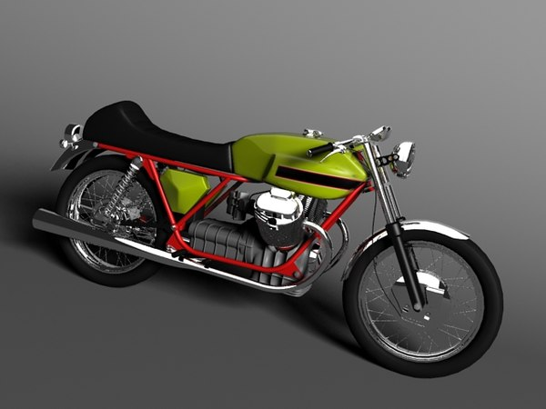 3d moto guzzi v7 sport
