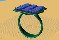 free ring jewelry gift 3d model