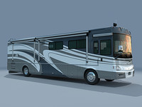 coaches winnebago vectra 40td 3d model