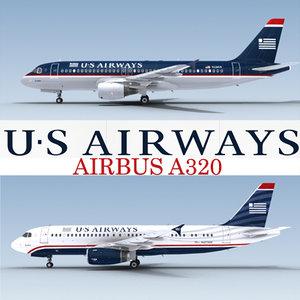 3ds max airbus a320 airways