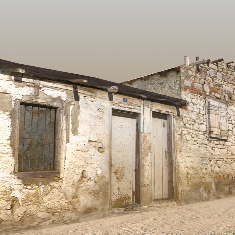 3d max afghan house 05