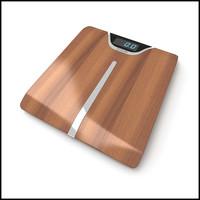 bath scale designs 3d model