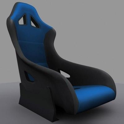 maya custom racing seat