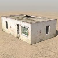 afghan house 01 3d c4d