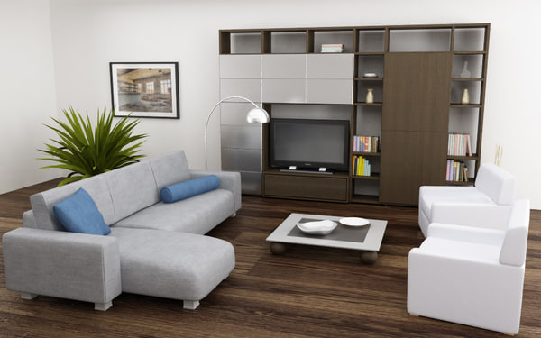 3ds max living room 04a