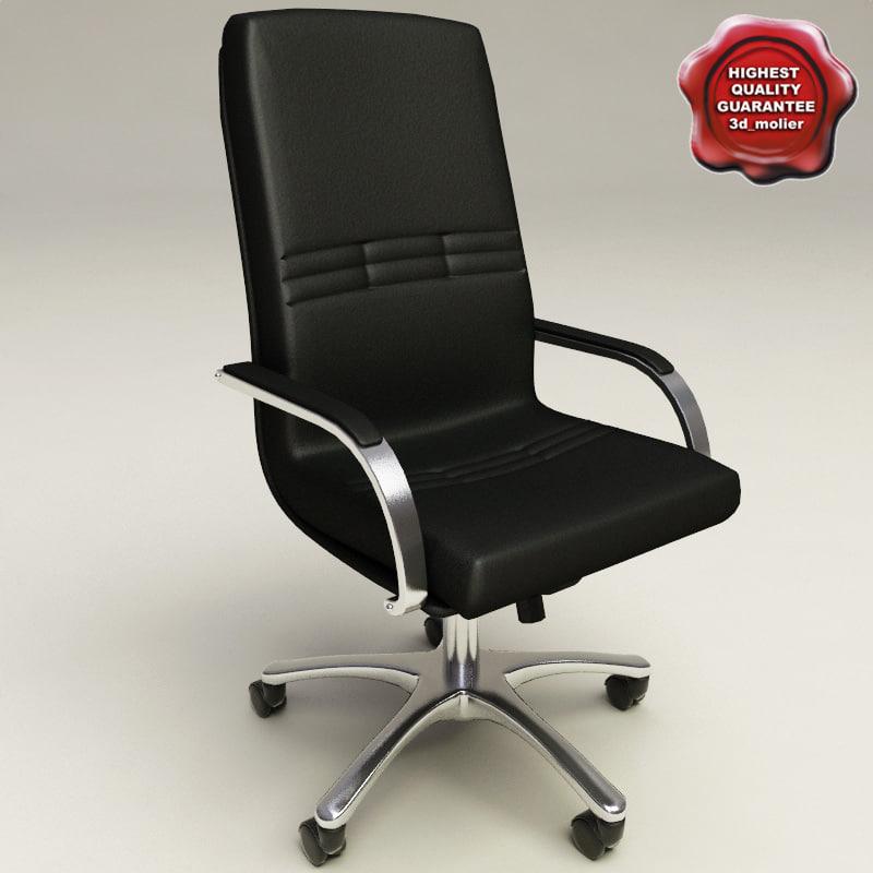 office chair v3 3d model