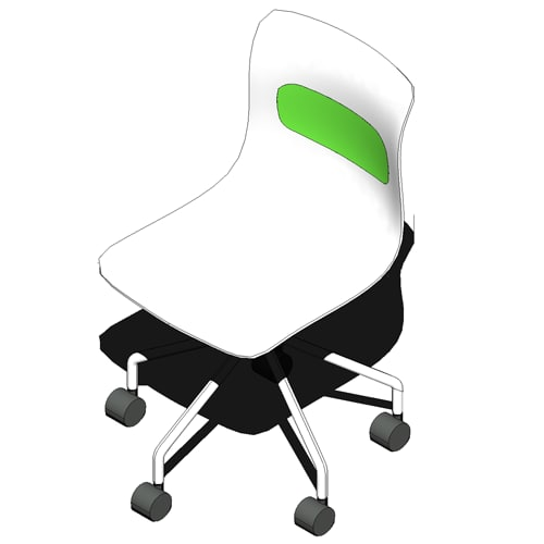 3d model parametric office chair