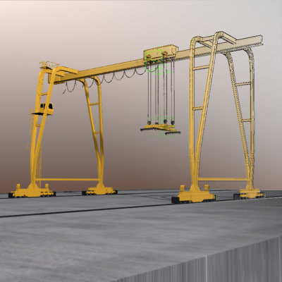 crane port 3ds