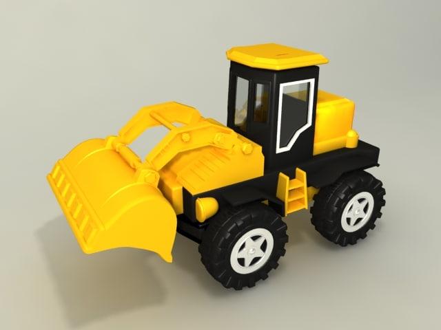 3dsmax toy powerloader