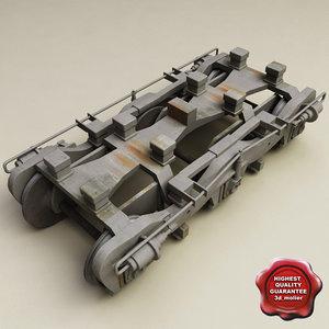 train wheels v3 3d lwo