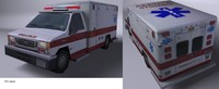 ambulancia c4d.rar