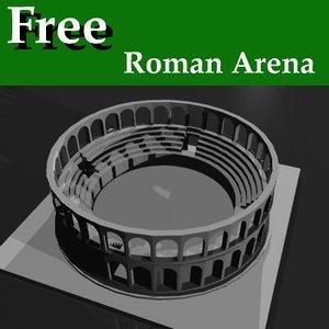 free lwo model arena roman