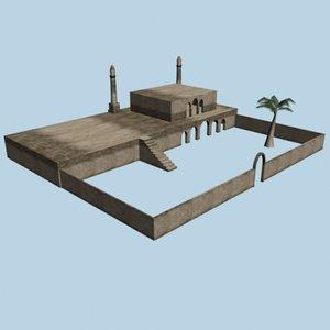 3ds max arabic mosquet
