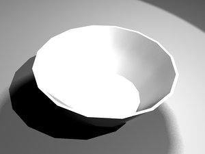 3dsmax bowl