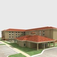 tp suites hotel 3d model