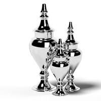 3d model column eduardo vase