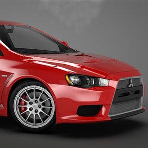 car 2010 3d model
