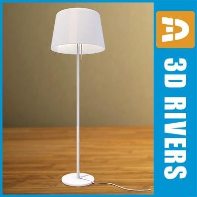 floor lamp lights 3d obj