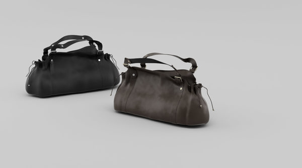 darel handbag hand 3d max