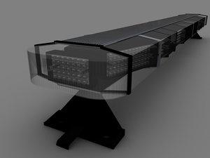 3d police led lightbar