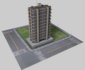 c4d city construction