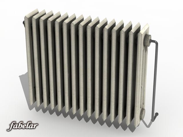 3d max radiator materials standard
