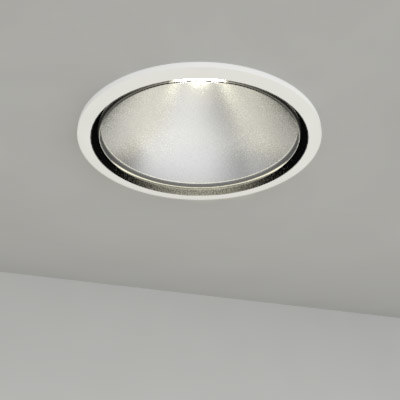 recessed light 3d model