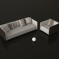 3d model furniture rolf benz 6900