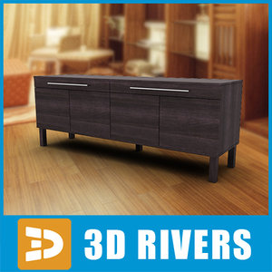 maya sideboard furniture displaying