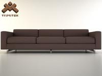 sofa base 3d 3ds