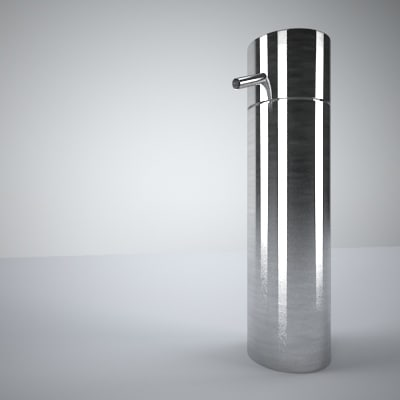 3d soap dispenser soapdispenser model