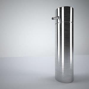 3d soap dispenser soapdispenser model