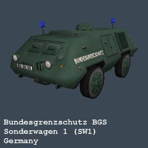 3d german sw1 bgs federal