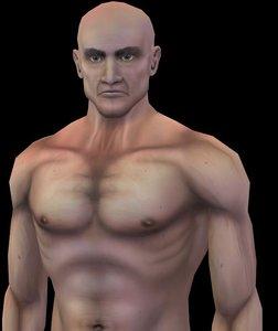3d model nude male