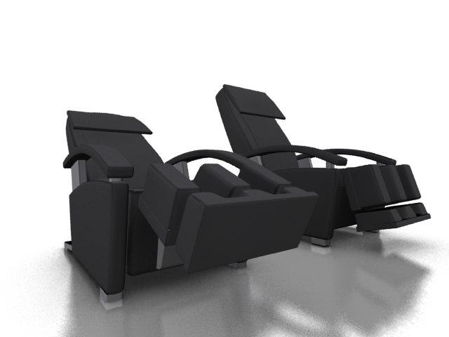 massage chair 3ds