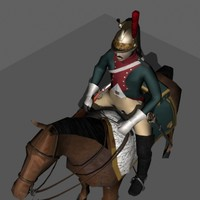 3ds max grand french dragoon