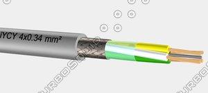 liycy 4x0 34 mm2 3d model