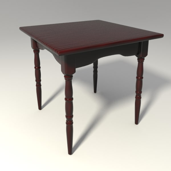3ds max table base
