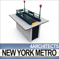 New York Subway Vol. 1 - Metro Entrance A
