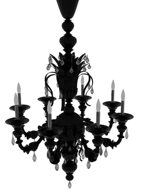 3d chandelier majo 6099 k12 model
