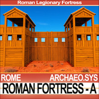 Roman Legionary Fortress - Model A