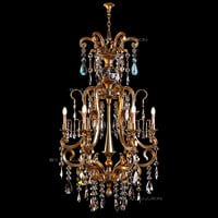 3dsmax chandelier badari lighting b4-42