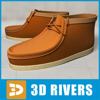 boat shoes 3d 3ds
