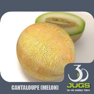 3d model mr cantaloupe