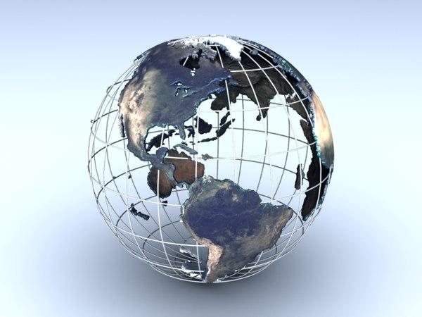 globe 3ds free
