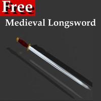 FREE Medieval Longsword
