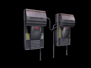 sci-fi generators 3d max