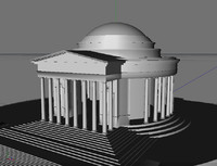 3d jefferson memorial