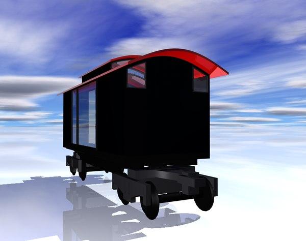 train car obj free