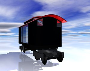 train car obj free